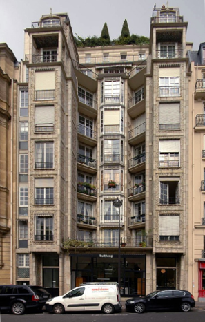 Auguste Perret, Rue Franklin Apartments