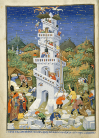 Tower of Babel, Bedford Hours